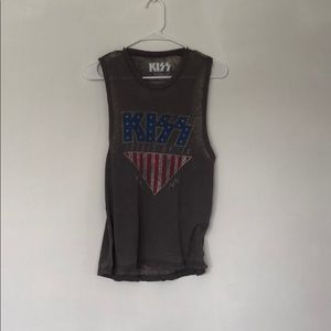 Authentic KISS merch muscle tank